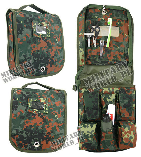 Cosmetic Bag military Flecktarn